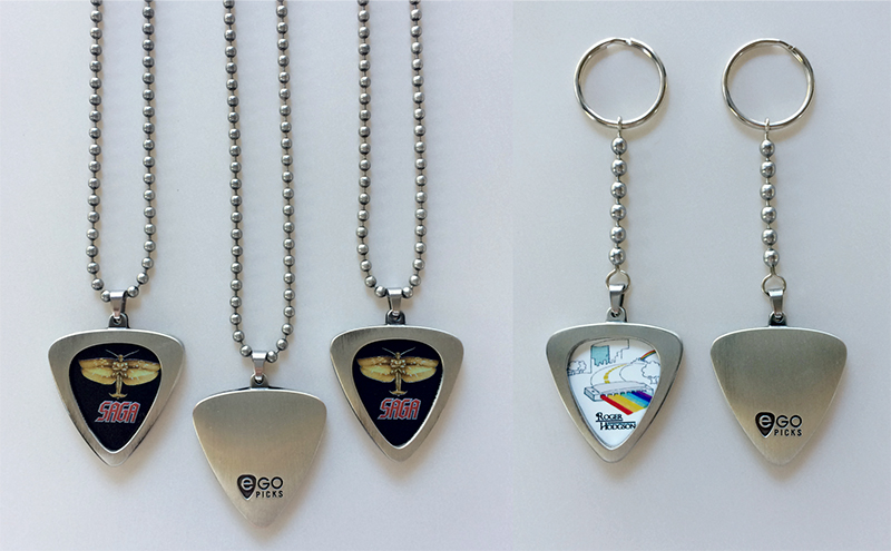 new perch items- saga pick necklaces