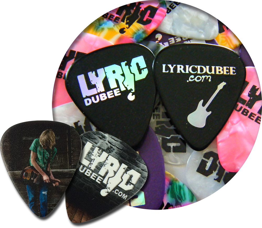 about egopicks -  custom guitar pick collections-lyric dubee