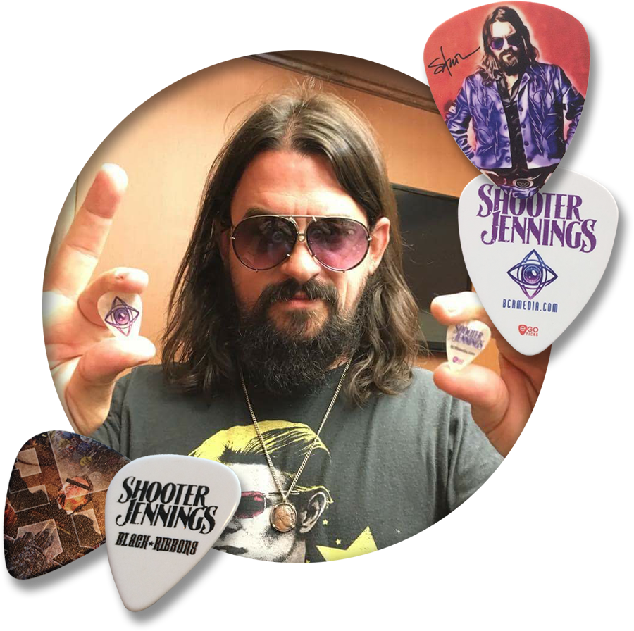 Why choose egopicks- Shooter Jennings