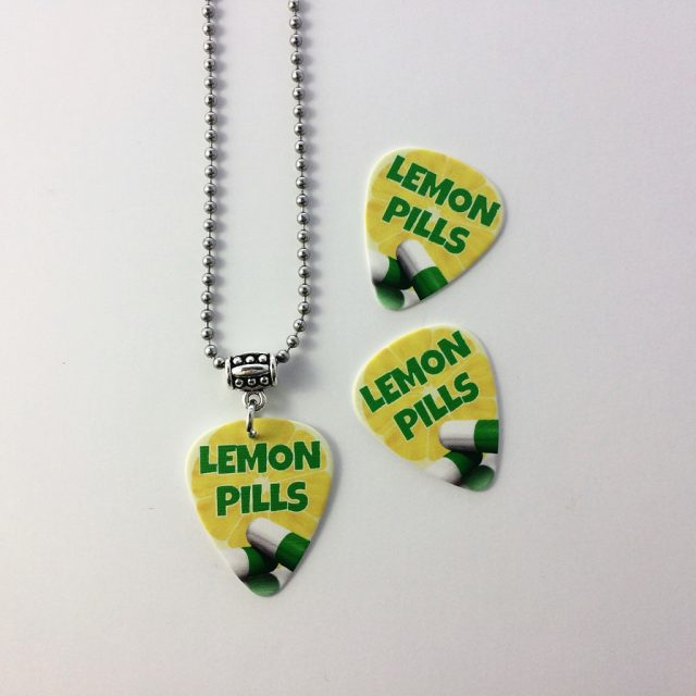 Bright picks and ball chain necklaces for rocknroll cover bandhellip