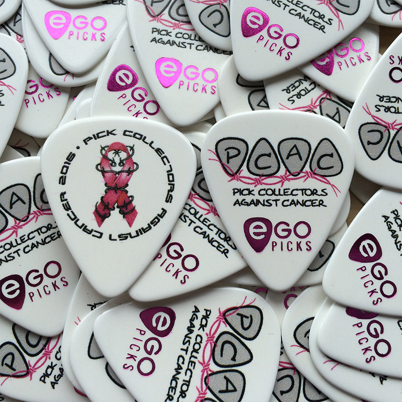 egopicks gives back- Pick Collectors against cancer- PCAC